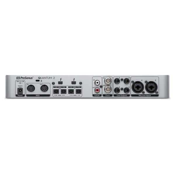 PreSonus Quantum 2 Thunderbolt Audio Interface Rear
