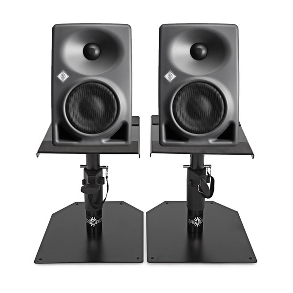 Neumann KH 80 DSP Studio Monitor Pair with Monitor Stands