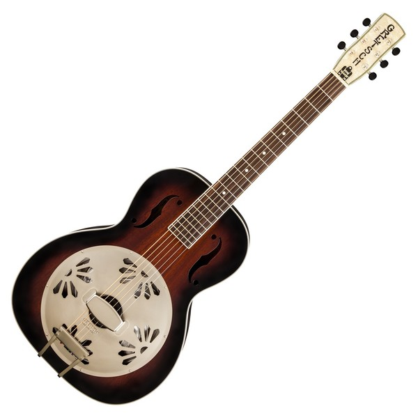 Gretsch G9240 Alligator Biscuit Roundneck Resonator, 2-Color Sunburst main Image