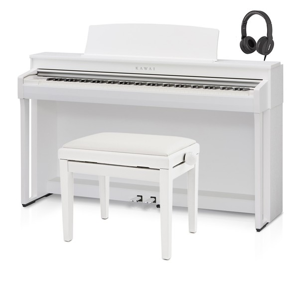 Kawai CN37 Digital Piano, Satin White Package