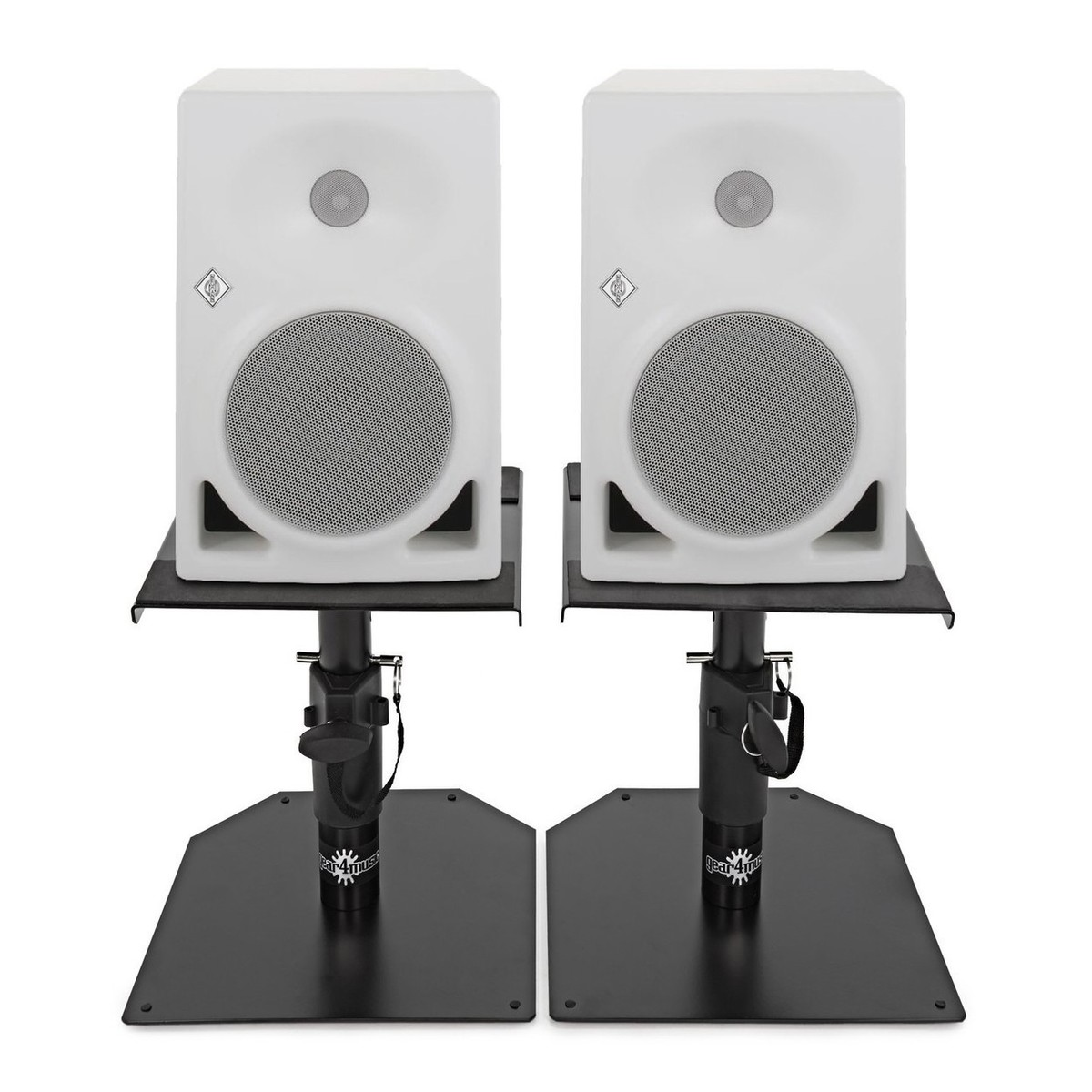 Click to view product details and reviews for Neumann Kh120aw Active Studio Monitor Pair White With Monitor Stands.