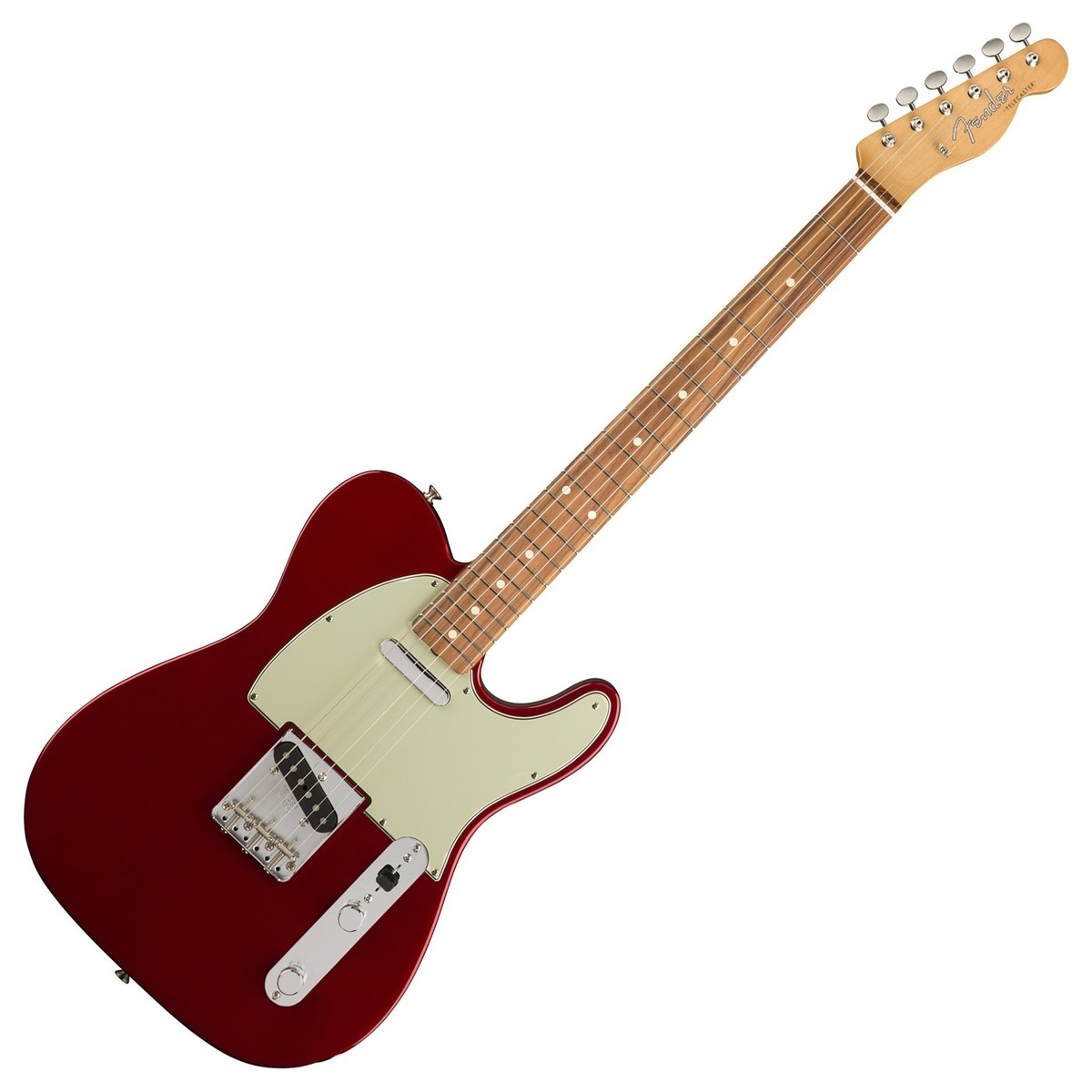 fender classic series 60s telecaster pw candy apple red at gear4music. Black Bedroom Furniture Sets. Home Design Ideas