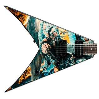 Dean Dave Mustaine Signature V Electric Guitar, United Abomination - body