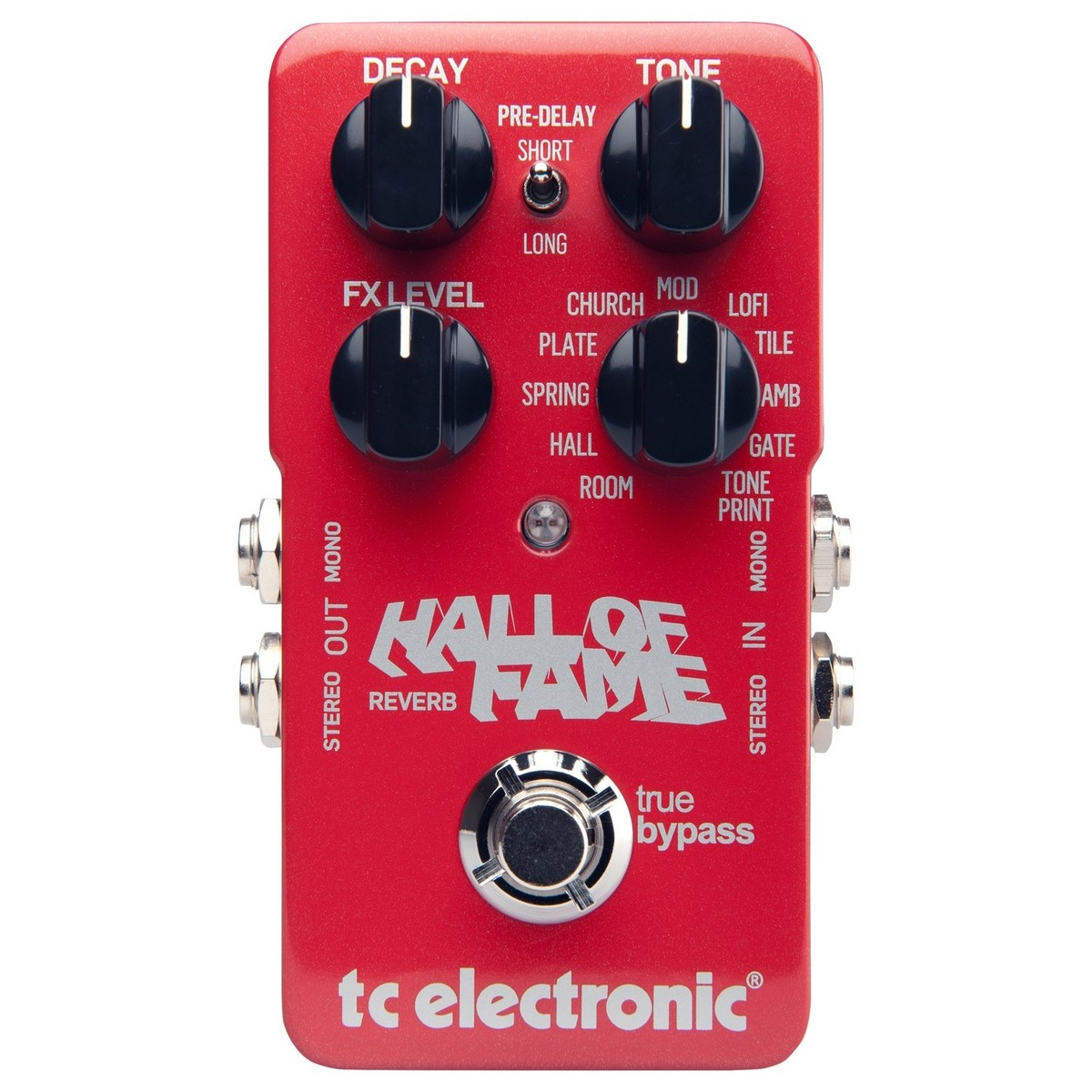 Tc Electronic Hall Of Fame Reverb Pedaal Gear4music