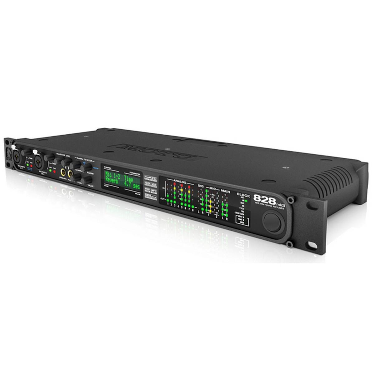Motu 828 Mk3 Hybrid Firewire Usb Audio Interface