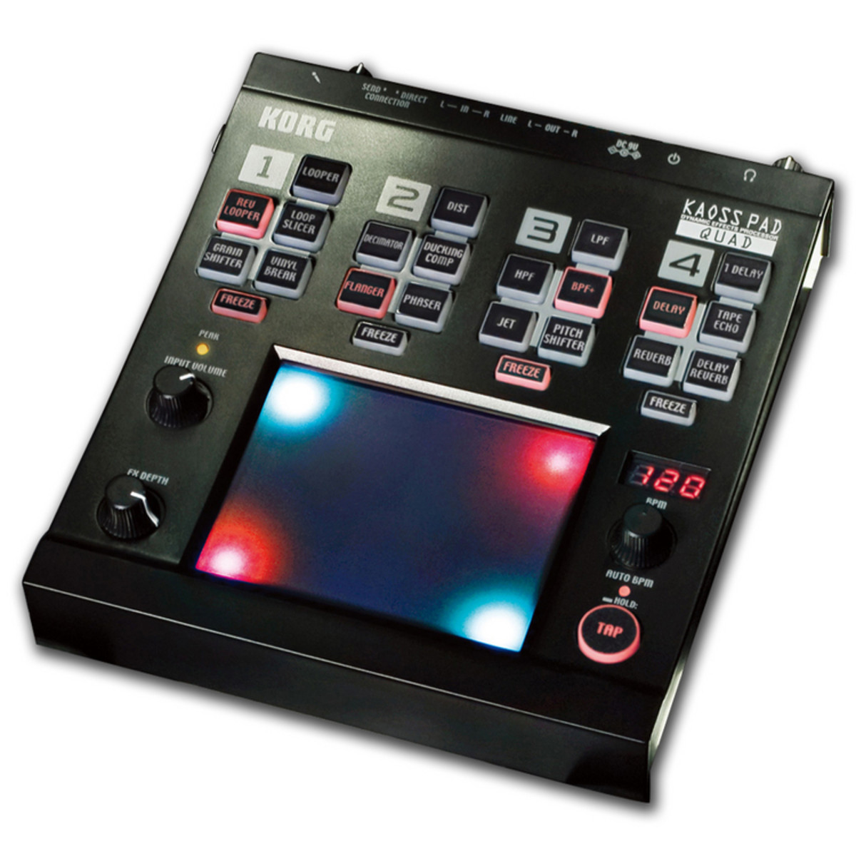 disc korg kaoss pad quad dynamic effects processor at gear4music. Black Bedroom Furniture Sets. Home Design Ideas