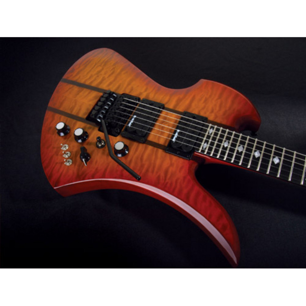 DISC BC Rich Mockingbird ST Honeyburst Electric Guitar at ...