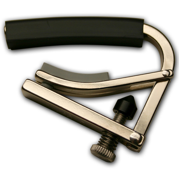 "SHUBB C4 Radically Curved Capo 7.25"" Radius, Nickel Plated"