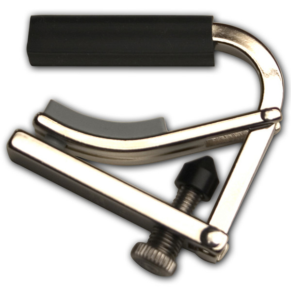 SHUBB C5 Banjo Capo, Nickel Plated