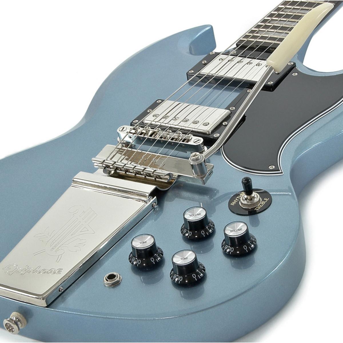 disc epiphone sg g 400 electric guitar pelham blue at gear4music. Black Bedroom Furniture Sets. Home Design Ideas