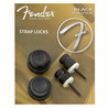 Fender, Boutons de Fixation de Sangle, Noirs