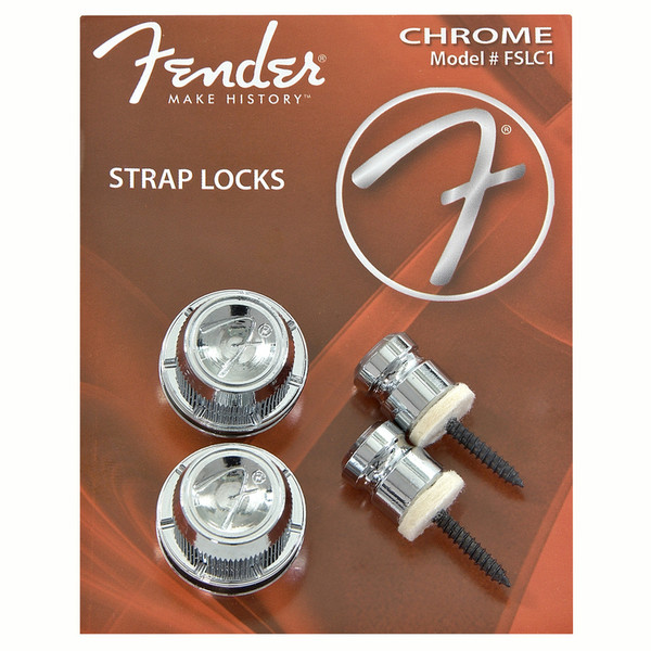 Fender Strap Locks, Chrome