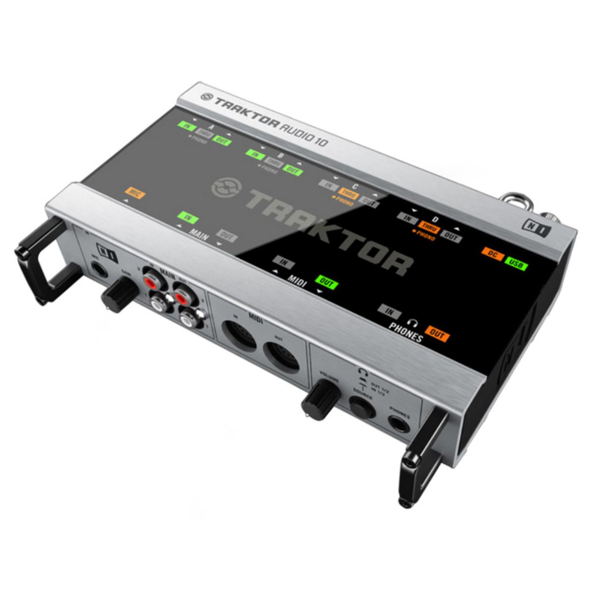 disc native instruments traktor audio 10 usb audio interface gear4music. Black Bedroom Furniture Sets. Home Design Ideas