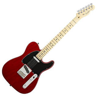 Fender American Standard Telecaster, Crimson Trans Red, Maple Neck