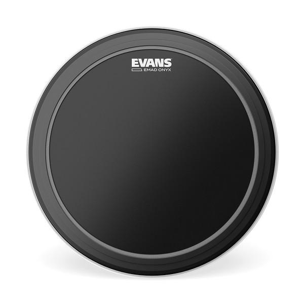 "EVANS Onyx EMAD Resonant Drumhead 22"""