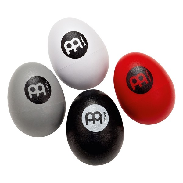 Meinl Plastic Egg Shakers Assortment, 4 pcs