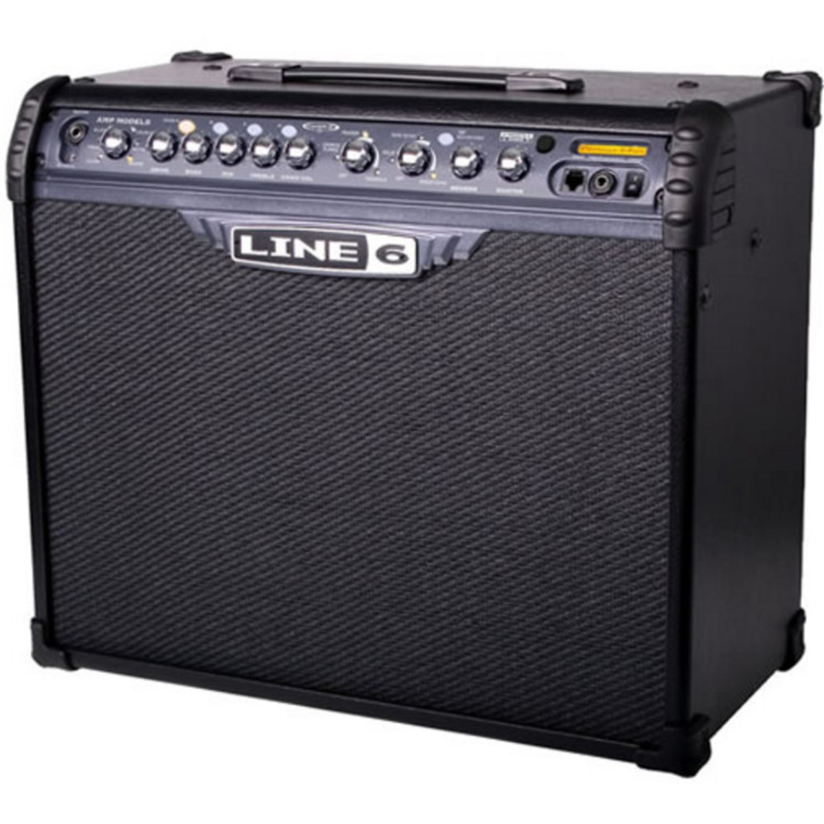 disc line 6 spider iv 75 guitar combo amp used at gear4music