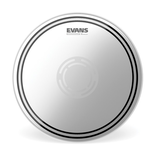 EVANS Edge Control EC 1 ply Reverse Dot Snare Head 14""