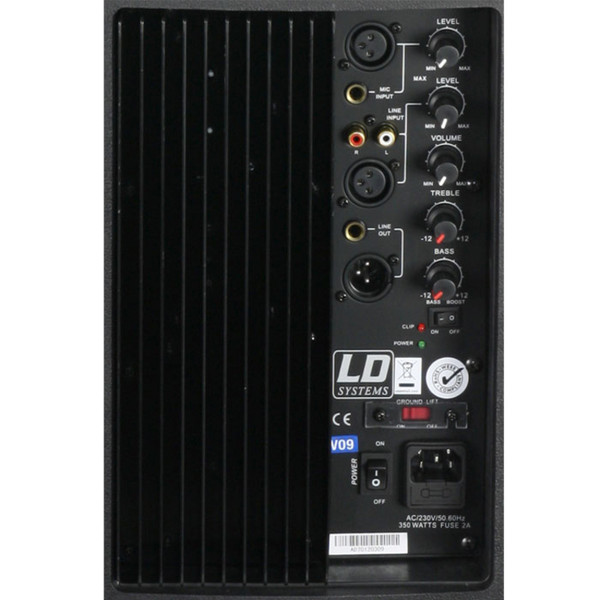 "LD Systems LDPN122A2 Pro Series 12"" Active Speaker.1"
