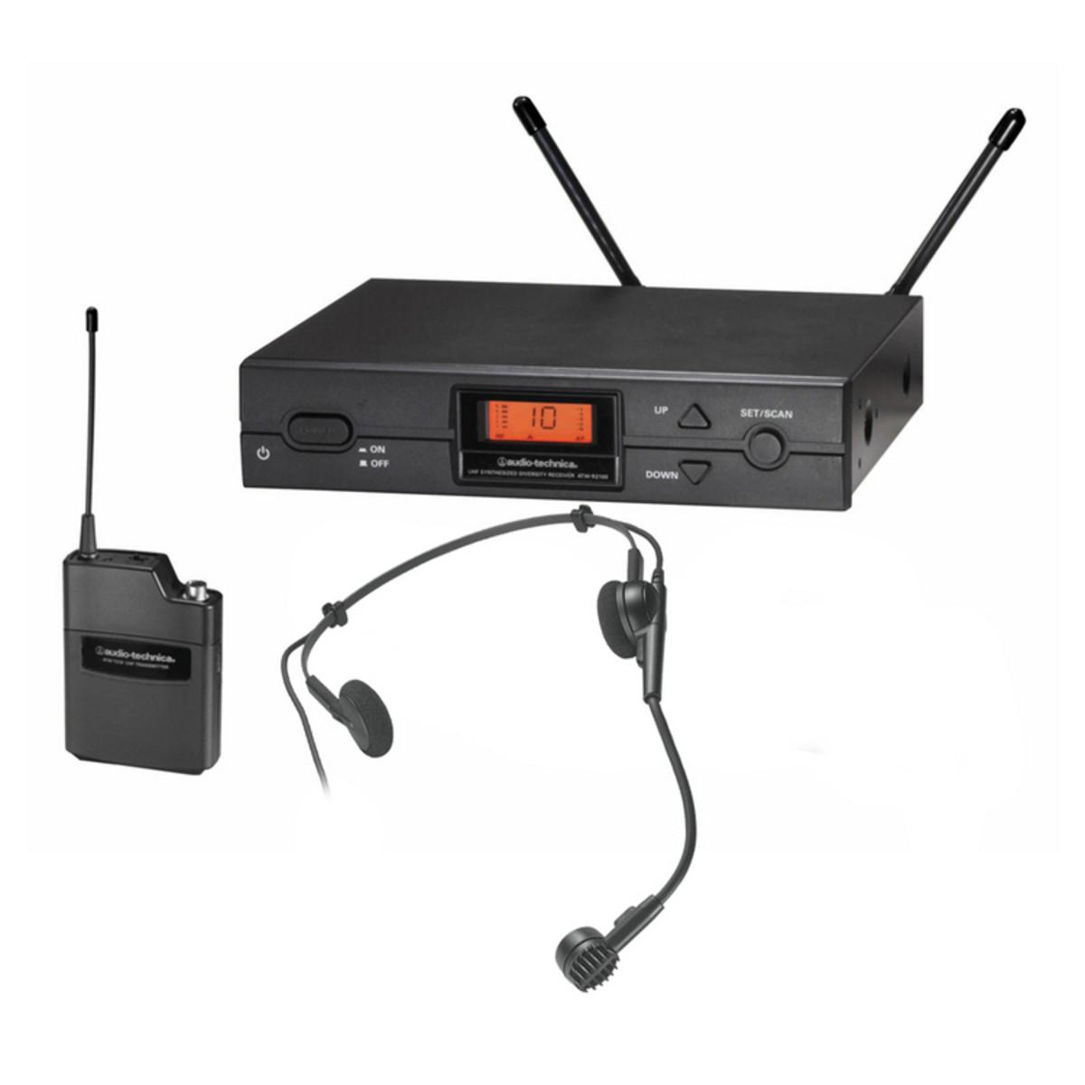 Audio Technica ATW-2110 P1 Sistema Inalámbrico de Micro de Diadema ...