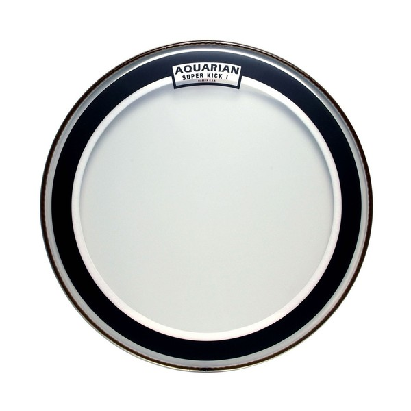 "Aquarian Super Kick I Single Ply Clear 18"" Tom  Drum Head"