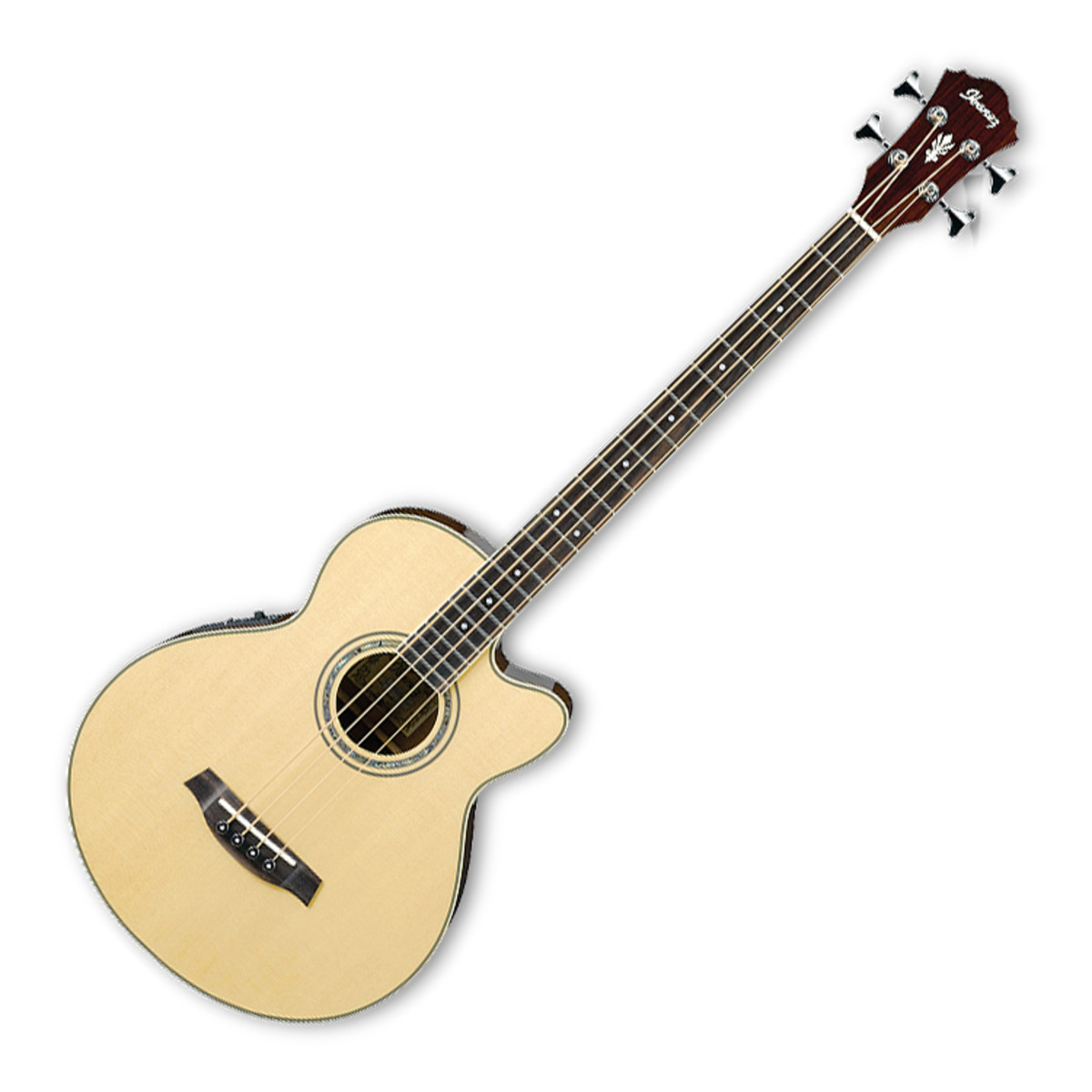 disc ibanez aeb10e electro acoustic bass guitar natural at gear4music. Black Bedroom Furniture Sets. Home Design Ideas