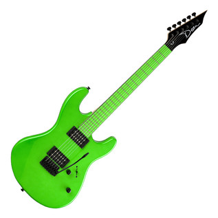 Dean Custom Zone Electric Guitar, Neon Green