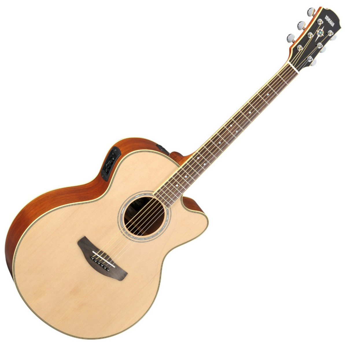 Disc yamaha cpx700ii electro ac stico guitarra natural en for Yamaha phone number