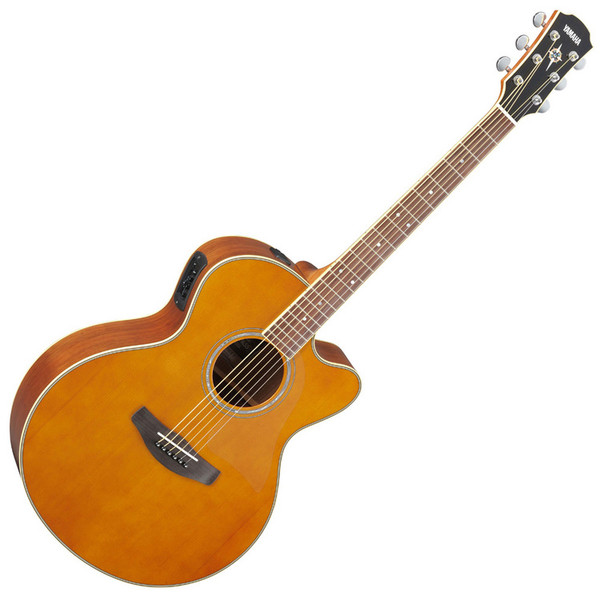 Yamaha CPX700II Electro Acoustic Guitar, Tinted