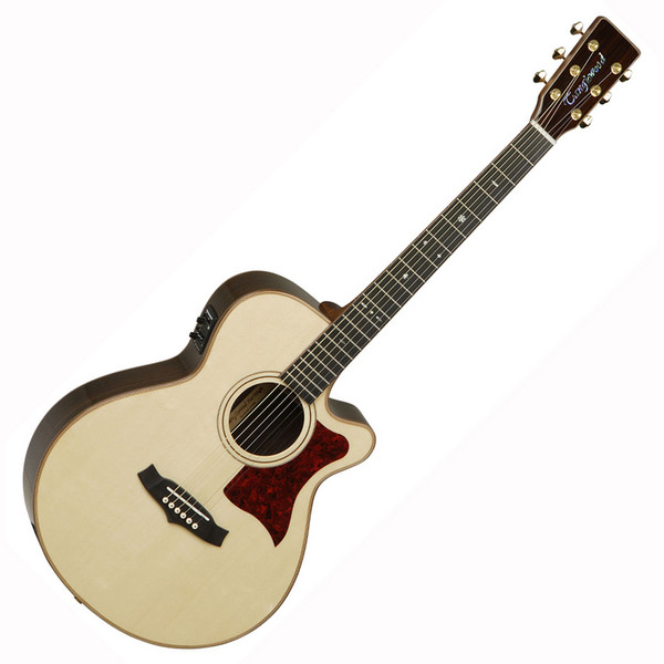 Tanglewood TW45 Heritage Folk Body Electro Acoustic Guitar