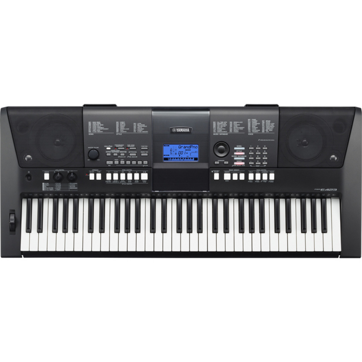 yamaha psr e423 portable keyboard used at. Black Bedroom Furniture Sets. Home Design Ideas