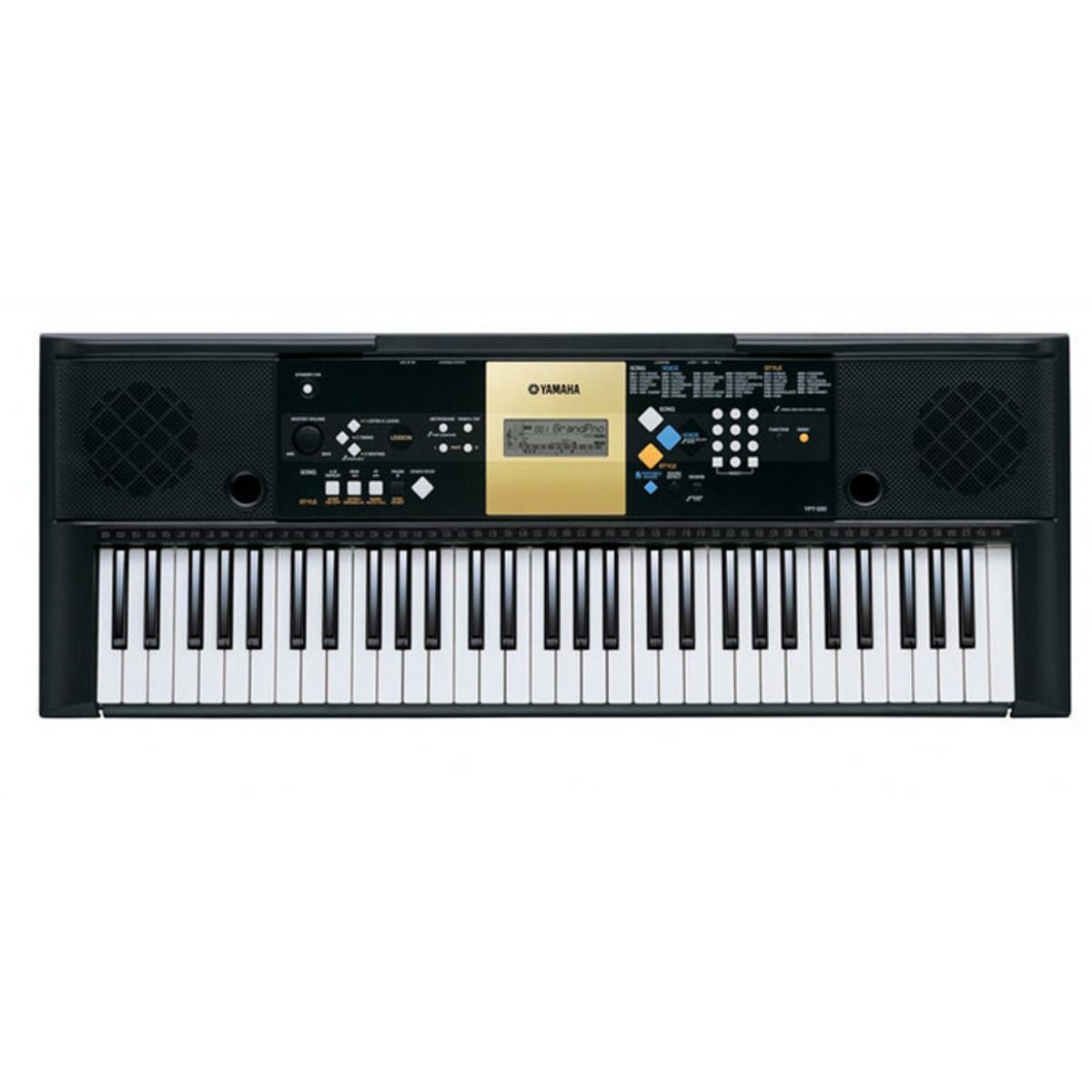 disc yamaha ypt 220 portable keyboard gear4music. Black Bedroom Furniture Sets. Home Design Ideas