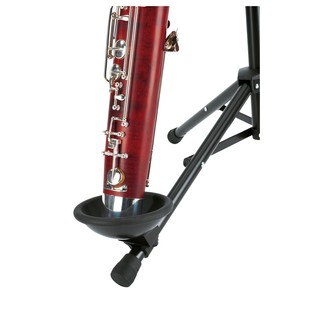 K&M Bassoon Stand, Black