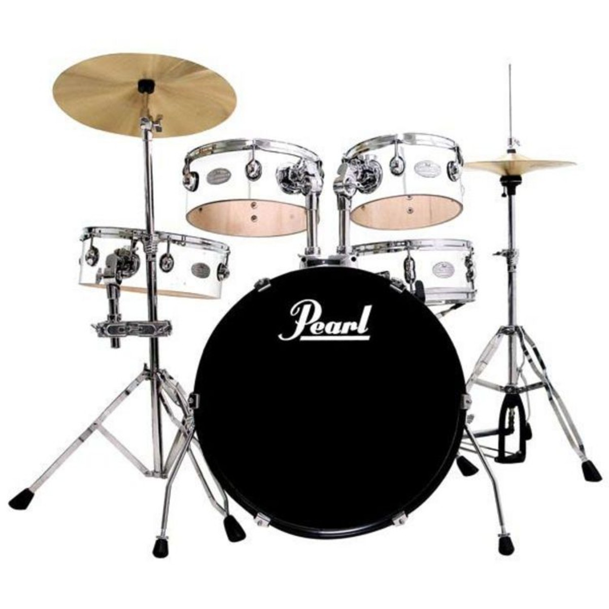 pearl rhythm traveler rt705hcc pure white used at gear4music. Black Bedroom Furniture Sets. Home Design Ideas