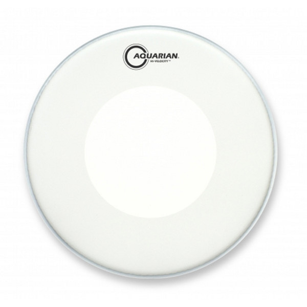 "Aquarian Hi-Velocity Two Ply Texture Coated Power Dot 14"" Drum Head"