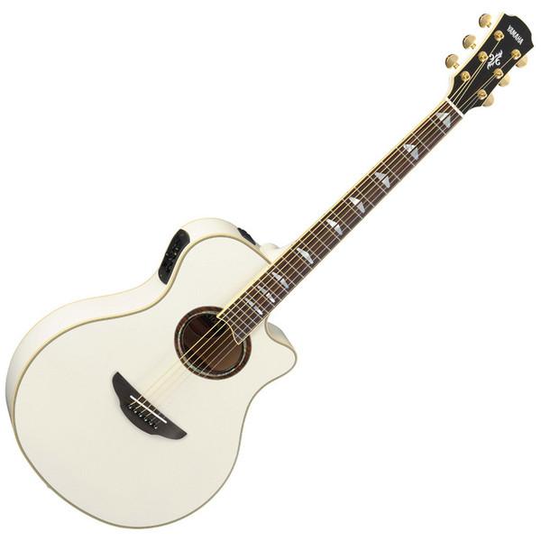 Yamaha APX1000 Electro Acoustic Guitar, White