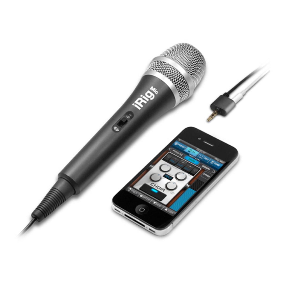 IK Multimedia iRig Mic Microphone for iPhone