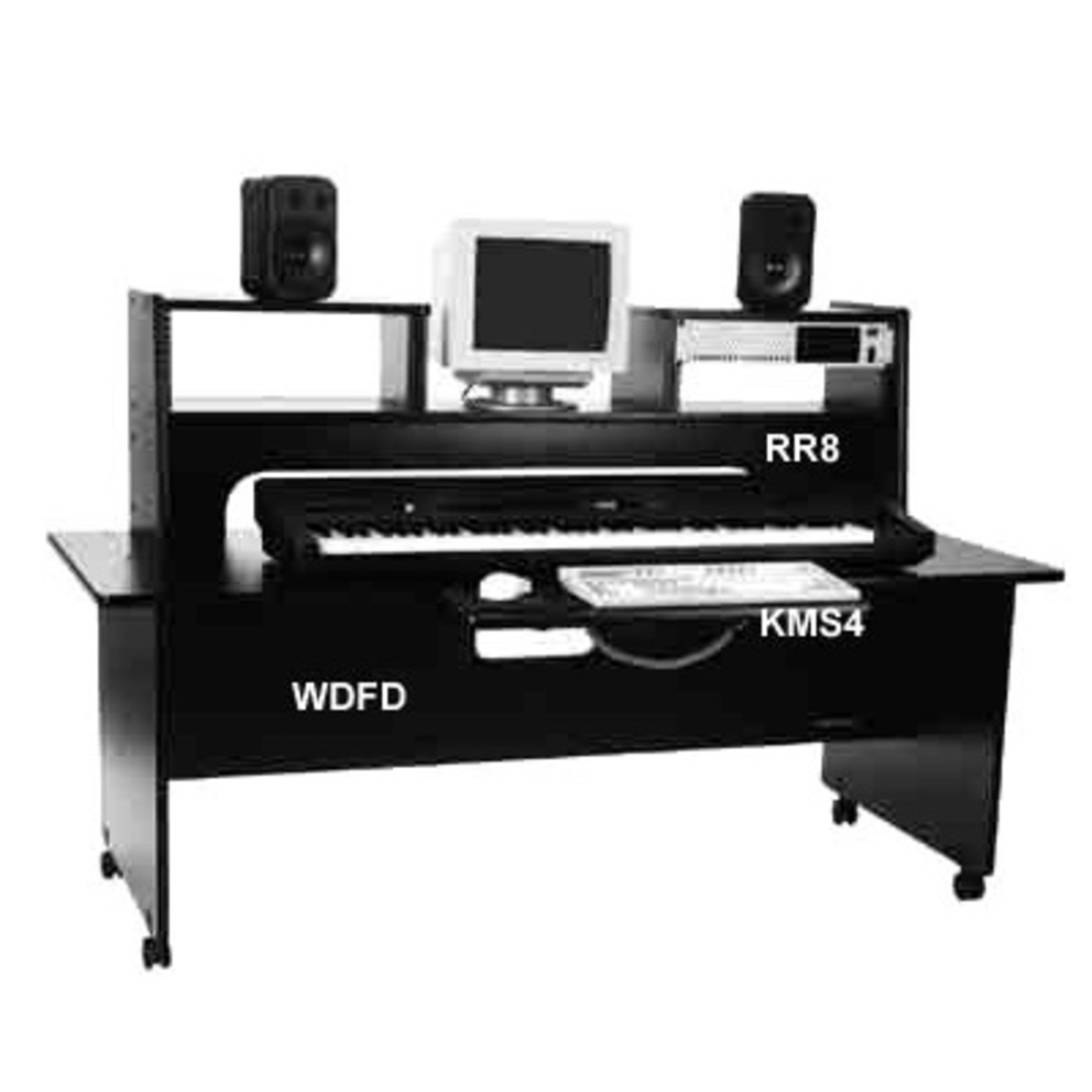 Disc Omnirax Wdfd Deep Freestanding Desk At Gear4music
