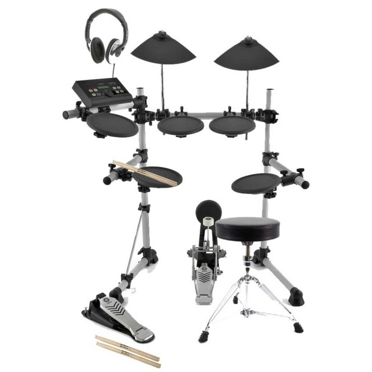 Disc Yamaha Dtx500k Electronic Drum Kit With Free
