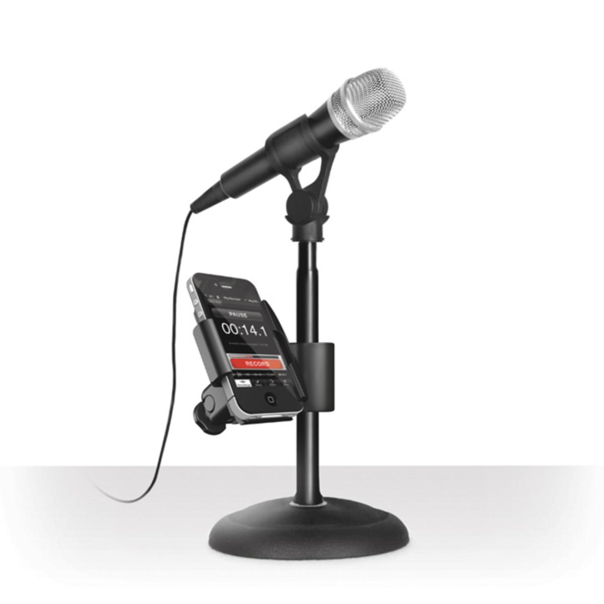 Ik Multimedia Iklip Mini Mic Stand Adaptor For Iphone At