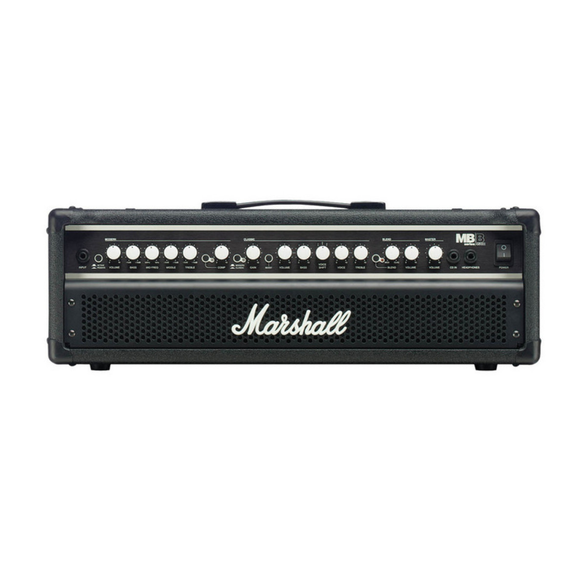 marshall mb450h 450w bass amp head 2 channel at. Black Bedroom Furniture Sets. Home Design Ideas