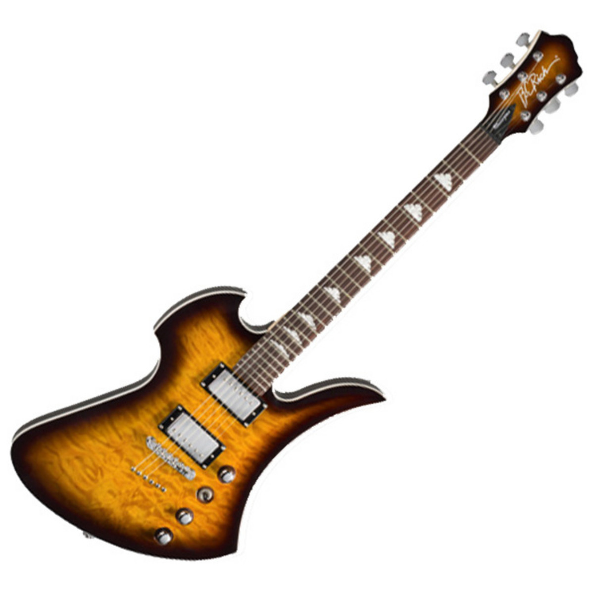 disc bc rich mockingbird masterpiece electric guitar tobacco at gear4music. Black Bedroom Furniture Sets. Home Design Ideas