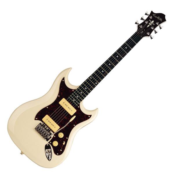 DISC Hagstrom F200P Electric Guitar, Cream | Gear4music
