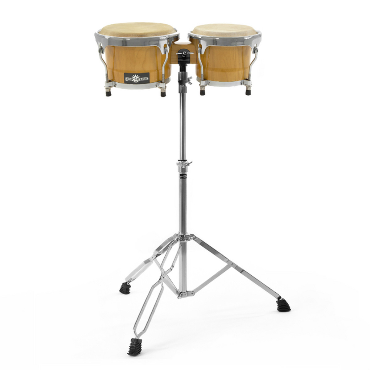 Click to view product details and reviews for Bongo And Stand Set By Gear4music.