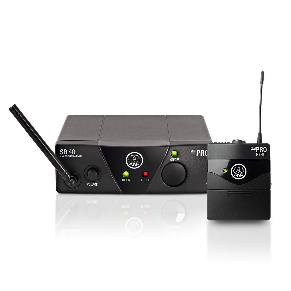 Akg Wms40 Mini Wireless Instrument Set Ism 1 At Gear4music Miniature Fm Transmitter