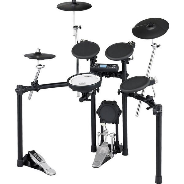 DISC Roland TD4K2+P V-Drum Electronic Drum Kit (w/ FOC Basix Pedal)