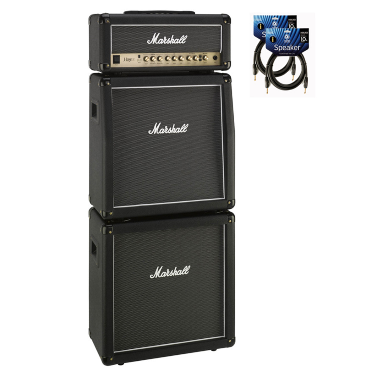 Marshall Haze Mhz15 Amp Head Amp Cabinet Full Stack Bundle