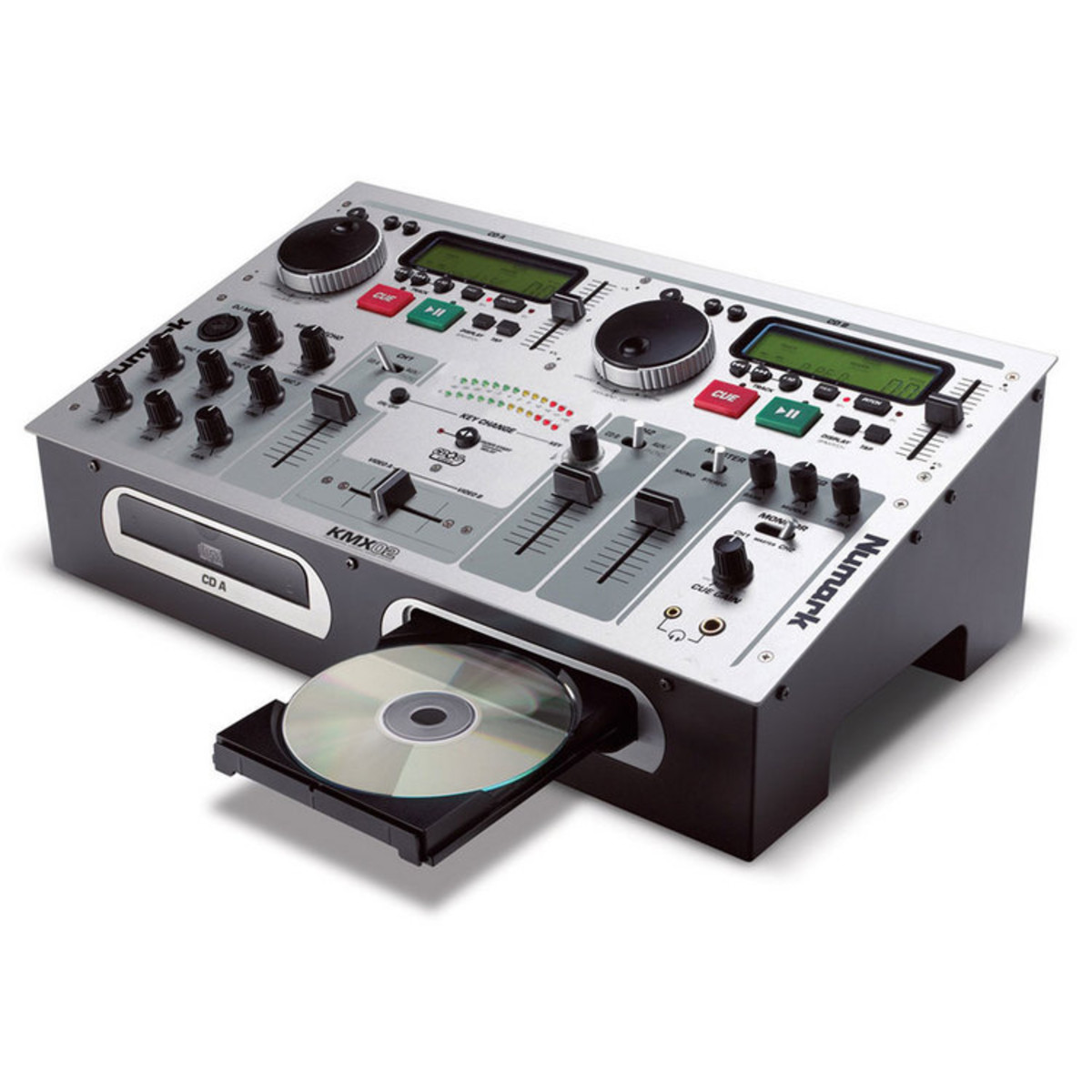 disc numark kmx02 compact dual deck dj station at gear4music com rh gear4music es DJ Table Numark iPad DJ Station