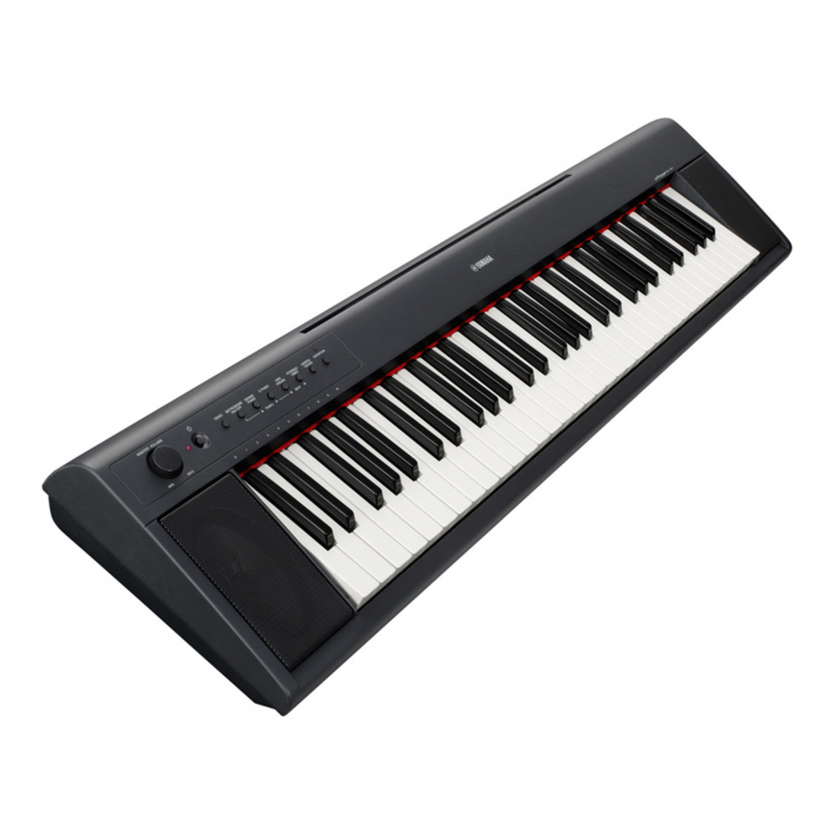 yamaha np11 piaggero portable digital piano black ex