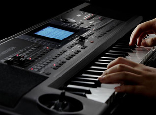 KORG microARRANGER Digital Piano control 1